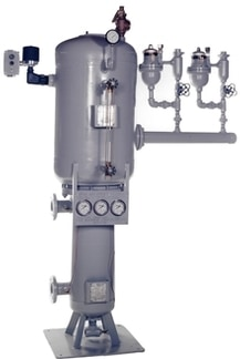 Madden Manufacturing boiler continuous blowdown heat recovery system