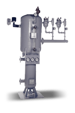 Compact vertical heat recovery system